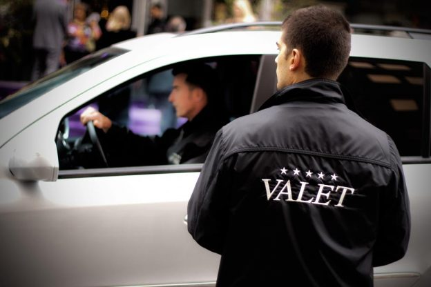 Significance of hiring valet services for a big event